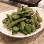 太門 - 焼き枝豆