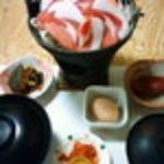 和食処・喫茶きりやま - ミニしし鍋定食