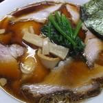 中華料理 天王 - 生姜醤油チャーシューメン
