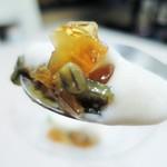 龍圓 - ピータン豆腐