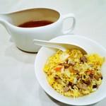 龍圓 - スープ炒飯