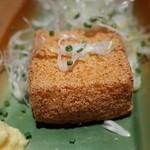 42181970 - 豆腐の素揚げ