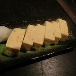 囲炉裏料理と日本酒スローフード 方舟 - だし巻き卵