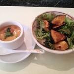 食房エスト - 前菜とサラダ