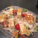 42183153 - 豆腐サラダ