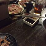 七輪焼肉 安安 - 肉〜♪