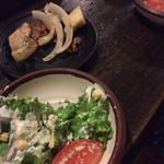 七輪焼肉 安安 - サラダ