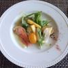 Furansuryourikimishima - 料理写真:【前菜】 鶏胸肉の酒粕と麹漬け サーモンと粒マスタードのマリネ 野菜のピクルス