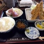 42184196 - ランチ地魚フライ定食
