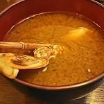 42184207 - 渡り蟹のお味噌汁