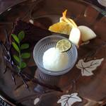 フランス料理 Kimishima  - 【デザート】 ガトーショコラ