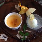 フランス料理 Kimishima  - 【デザート】 クリームブリュレ
