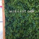 ミライスト カフェ&キッチン - エントランスの屋号