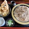 滝野庵 - 料理写真:2015.09天丼セット 1050円