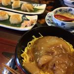 ゆう寿司 - 料理写真:フカヒレ丼とフカヒレ寿司とフカヒレスープ ପ(´'▽'`)ଓ♡⃛