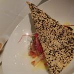 キャトルフィーユ - Bランチ・天然ぶりソテー・アンチョビとトマトのブールブラン