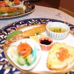 高原の天詩 - 料理写真:オードブル前菜盛り