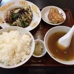 金竜中国料理店 - 回鍋肉定食