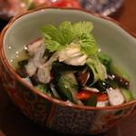 さらい - 地の蛸の酢の物