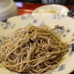 手打そば千花庵 - 2回目訪問時の食べ較べ2枚目は信州。