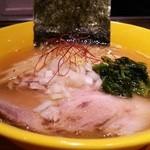 らーめん 恵本将裕 - 塩煮干しらーめん(800円)
