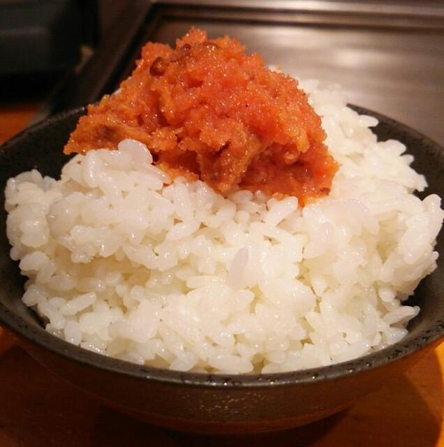 らーめん 恵本将裕 - 鮭明太ごはん(300円)