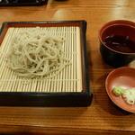 只見荘 - 料理写真:夕飯のそば