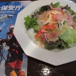 ターヴォラ カルダ モンステラ - 前菜(生ハムのサラダ)