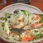 魚や 十兵衛 - 豚しゃぶサラダ^^;