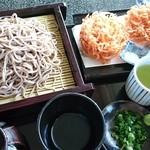 パノラマテラス 海の庭 - 桜海老のかき揚せいろ 1,320円