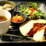 Natural Cafe&Gallery 蔵 - ピタパンのランチ