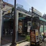 ドトールコーヒーショップ - 池上線の荏原中延駅改札目の前