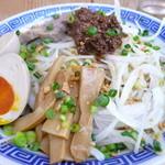 勝神角ふじ - スタミナ麺大盛り