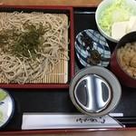 ドライブイン五子 - 料理写真:そば定食1,500円