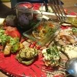 カサーレ - 前菜盛り合わせ