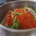 むら田 - 鮭といくらの釜飯
