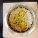 むら田 - 栗の釜飯