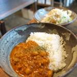 クワランカ カフェ - ひよこ豆のキーマカレー