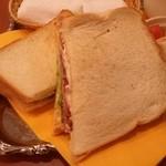 菊竹珈琲堂 - サンドイッチ