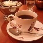 菊竹珈琲堂 - セットのコーヒー