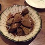 居食屋 渡美 - 鶏レバーたまり漬け390円