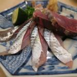 治鮨 - 27年9月 秋刀魚と鰹