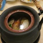 治鮨 - 27年9月 松茸土瓶蒸し