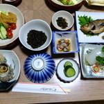なまはげ荘 - 料理写真:夕食