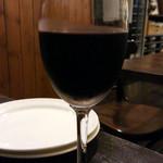 クチーナta・to - 2015/9 赤ワイングラス \500