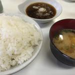 だるまの天ぷら定食 - 料理写真:⚫︎基本のセット    これは大ごはん。
