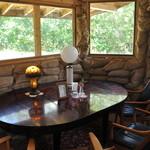 たまごカフェ - ちょっとした個室です