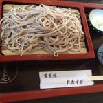 蕎麦処おおすが - 料理写真:ざる