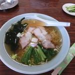 駒ケ岳ドライブイン - 料理写真:チャーシュー麺500円