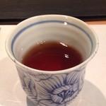 下町割烹とめだて - 27年9月 食後のほうじ茶